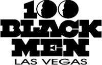 100 Black men Las Vegas Logo