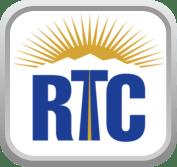 RTC logo, rising sun