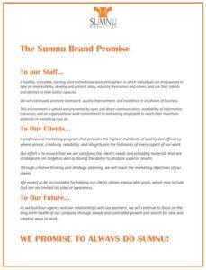 Sumnu Marketing Promise